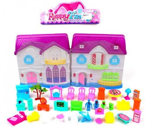 Игровой набор Наша Игрушка Складной дом игровой набор наша игрушка иллюзион