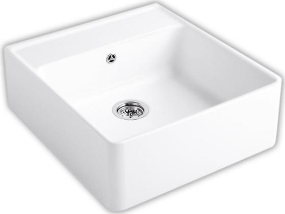 Single-bowl sink 595 x 220 x 630 mm R1 White Alpin CeramicPlus