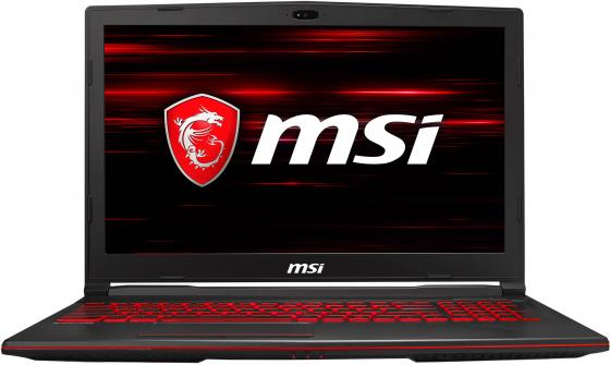 "Ноутбук MSI GL63 8SC-006RU Core i7 8750H/16Gb/1Tb/SSD256Gb/nVidia GeForce GTX 1650 4Gb/15.6""/IPS/FHD (1920x1080)/Windows 10/black/WiFi/BT/Cam цена"