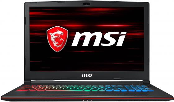 "Ноутбук MSI GP63 Leopard 8RE-844XRU Core i7 8750H/8Gb/1Tb/SSD128Gb/nVidia GeForce GTX 1060 6Gb/15.6""/FHD (1920x1080)/noOS/black/WiFi/BT/Cam цена и фото"