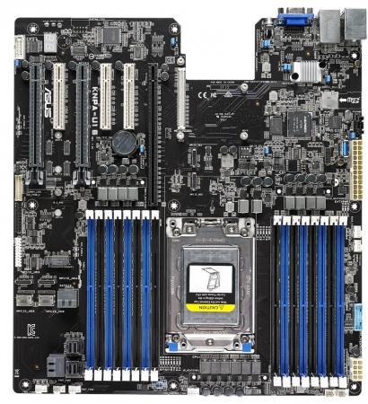 Материнская плата ASUS KNPA-U16 Socket SP3 System on Chip (SoC) 16xDDR4 3xPCI-E 16x 3xPCI-E 8x 12 SSI EEB Retail 90SB06V0-M0UAY0 asus b85m e soc 1150 intel