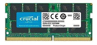 Оперативная память 16Gb (1x16Gb) PC4-21300 2666MHz DDR4 SO-DIMM CL19 Crucial CT16G4TFD8266
