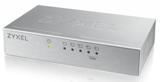 ZYXEL ES-105A 5-port Desktop Fast Ethernet Switch with 2 priority ports