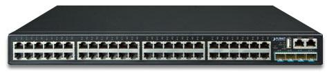 Layer 3 48-Port 10/100/1000T + 4-Port 10G SFP+ Stackable Managed Gigabit Switch коммутатор trendnet 48 port gigabit managed layer 2 switch with 4 shared sfp slots tl2 g448 rtl