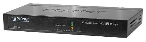 100/100 Mbps Ethernet (4-Port LAN) to VDSL2 Bridge - 30a profile