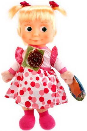 Мягкая игрушка Мульти-Пульти Маша и Медведь. Маша 29см в нарядном платье, русс чип в пак в кор24шт мульти пульти мягкая игрушка мульти пульти маша и медведь маша 26 см озвученная