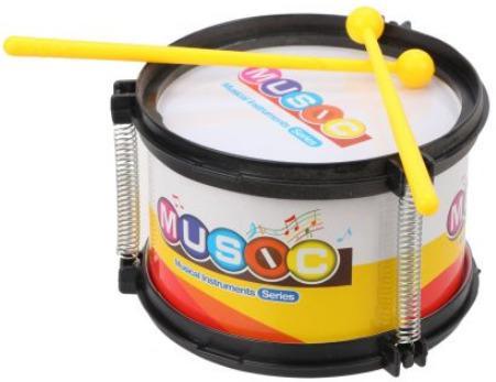 Барабан Наша Игрушка 8366 каталка детская наша игрушка барабан с шариком в ассортименте