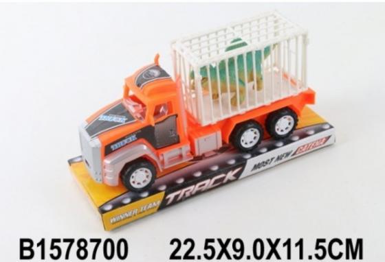 Грузовик Shantou Грузовик инерционный, с динозавром асорти грузовик bruder roadmax грузовик 20 000
