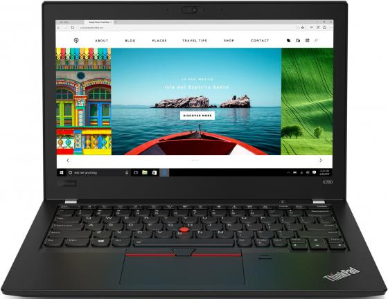 Ноутбук Lenovo ThinkPad X280 Core i5 8350U/16Gb/SSD512Gb/Intel UHD Graphics 620/12.5/IPS/FHD (1920x1080)/Windows 10 Professional 64/black/WiFi/BT/Cam ноутбук