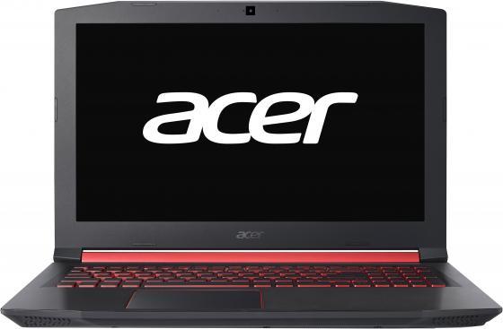 "Ноутбук Acer Nitro 5 AN515-52-73PT Core i7 8750H/16Gb/1Tb/SSD128Gb/nVidia GeForce GTX 1060 6Gb/15.6""/IPS/FHD (1920x1080)/Linux/black/WiFi/BT/Cam"