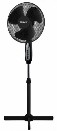 Вентилятор напольный Scarlett SC-SF111B17 45 Вт черный вентилятор scarlett sc 1173