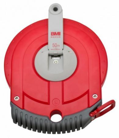 Рулетка BMI RADIUS 50M стальная лента 50м рулетка fit 50м фиброглассовая лента 17550