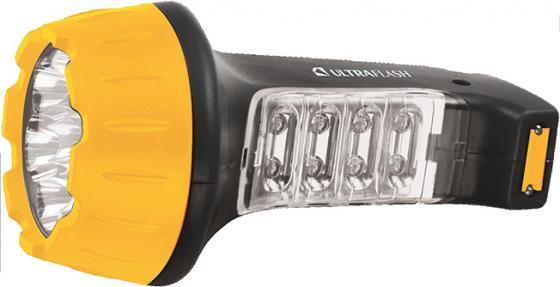 цена на Фонарь ручной Ultraflash LED3818 чёрный желтый
