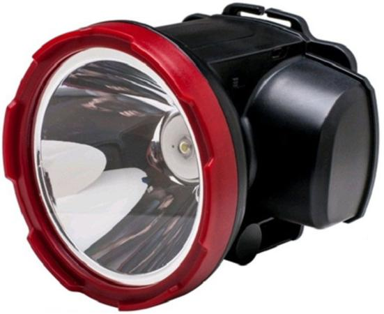 Фонарь КОСМОС KOCAccuH5WLED светодиодный аккум. налобный H5W 2 режима 5Вт LED 2А.ч зарядка от USB