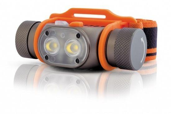 Фонарь налобный Яркий Луч PANDA 2R чёрный оранжевый цена