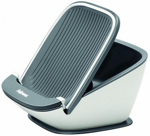 Fellowes® I-Spire Series™ Держатель для планшетного ПК Tablet SuctionStand™, белый/серый, шт цены
