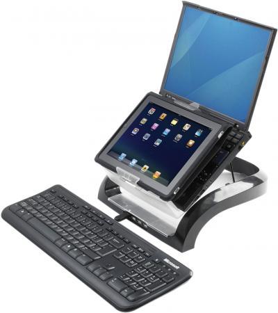 Фото - Fellowes® Рабочая станция для ноутбуков, планшетов и смартфонов, USB HUB x4, черная , шт азу для планшетов и ноутбуков