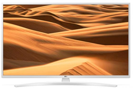 Фото - Телевизор 43 LG 43UM7490PLC белый 3840x2160 50 Гц Wi-Fi Smart TV RJ-45 Bluetooth 43UM7490PLC.ARU кеды мужские vans ua sk8 mid цвет белый va3wm3vp3 размер 9 5 43