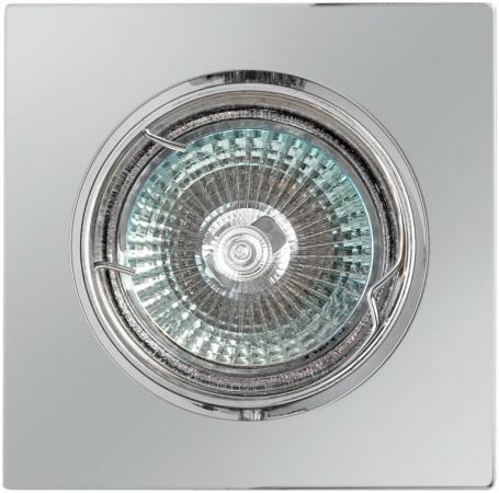 Светильник DE FRAN СЛ015111 квадрат поворотный в центре хром FT107KA