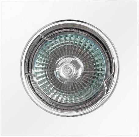 Светильник DE FRAN FT 107KA W квадрат поворотный в центре белый