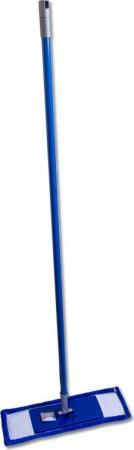 цена на Швабра EUROTEX 080401-001-001 с металлической ручкой 120см, насадкой из микрофибры
