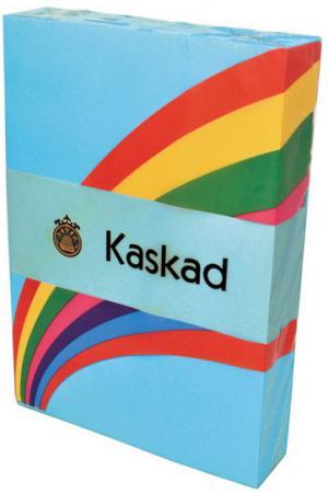 Бумага цветная Kaskad, 80гр, А4, лазурь (77), 500л энглер м приключения фантастического слона ищем сокровища в африке