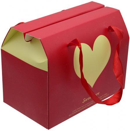 |Коробка подарочная складная, 17*10*17 см, с лентой коробка складная sima land заяц с барабаном 17 х 17 х 12 5 см