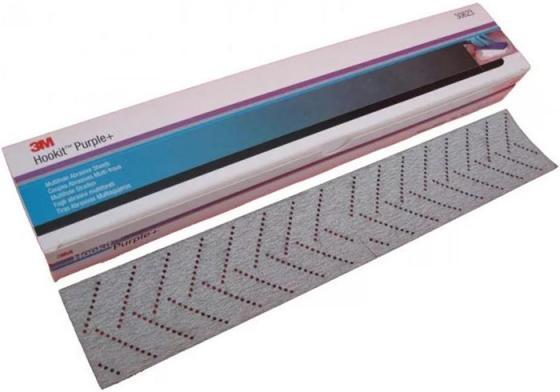 Полоска абразивная 3M Hookit 51411 737U(7100091746) Purple+, 80+, 70 мм x 396 1шт