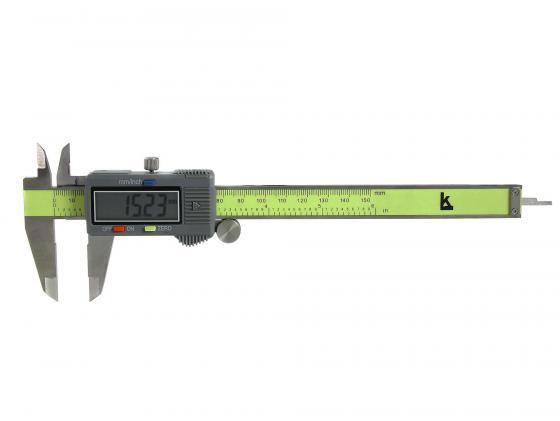 Штангенциркуль электронный Калиброн ШЦЦ-I 0-200 0.01 линейка калиброн 1000х35х0 8mm 73857