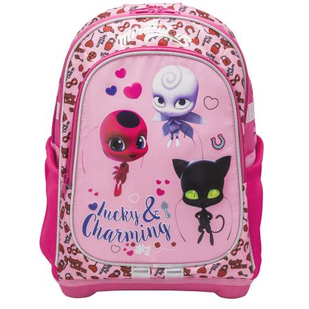 Школьный рюкзак с анатомической спинкой Action! LadyBug 18 л розовый LB-AB11095/2 стоимость