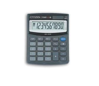 Калькулятор настольный Citizen малый 10-разрядный черный цена