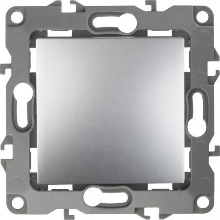 Выключатель ЭРА 12-1101-03 10АХ-250В, IP20, Эра12, алюминий