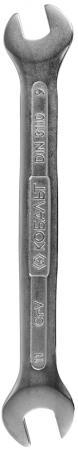 Ключ рожковый КОБАЛЬТ 248-047 (9 / 11 мм) 153 мм цена