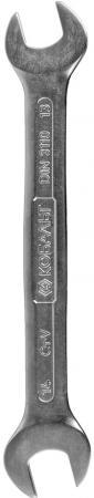 Фото - Ключ рожковый КОБАЛЬТ 248-085 (13 / 14 мм) 170 мм ключ fit 63483 14 15 мм