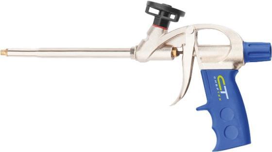 Пистолет для монтажной пены СИБРТЕХ 88671 усиленный корпус пистолет для монтажной пены облегченный корпус sparta