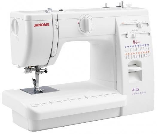 Швейная машина Janome 419S швейная машина vlk napoli 2400