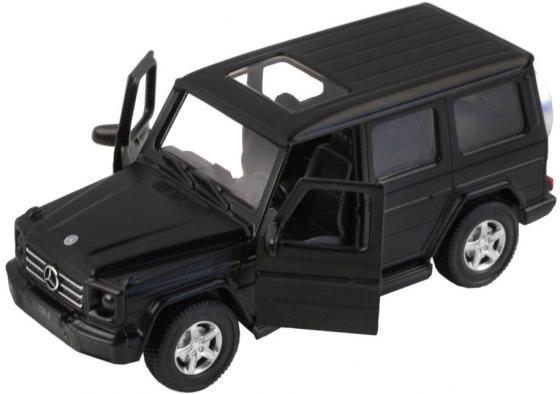 Машинка Автопанорама Mercedes-Benz G350d 1:42 черный машинка радиоуправляемая mz mercedes benz 2370pf