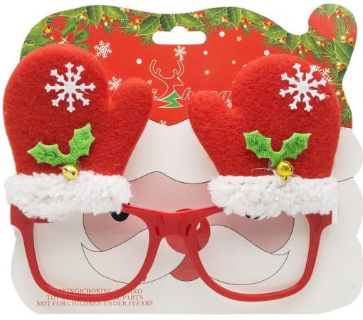 Карнавальные очки, 14.5*4.6 см, пластик, полиэстер карнавальные очки пират magic home карнавальные очки пират