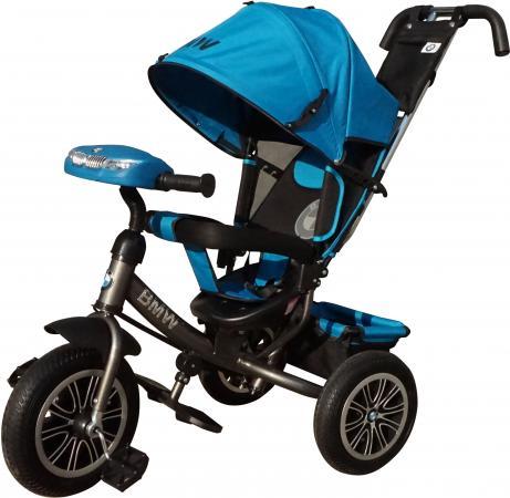 Велосипед трехколёсный BMW BMW 12*/10* синий BMW-M-N1210-LBLUE все цены