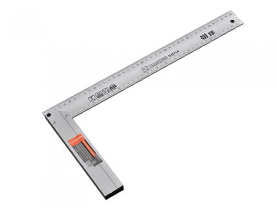 Угольник Harden алюминиевый 40 см алюминий пила складная harden 631301 универсальная зуб 3d 18 см