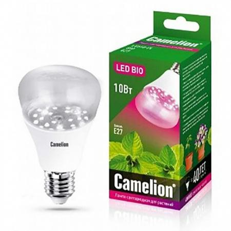 купить Лампа светодиодная рефлекторная Camelion LED10-PL/BIO/E27 E27 10W 13241 по цене 390 рублей