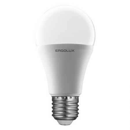 Лампа светодиодная груша Ergolux LED-A65-20W-E27-4K E27 20W 4500K 13183