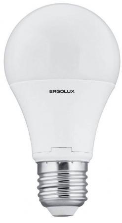 Лампа светодиодная груша Ergolux LED-A60-10W-E27-4K E27 10W 4500K 12149