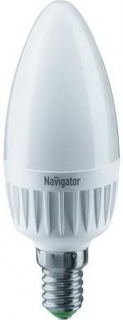 Лампа светодиодная NAVIGATOR 61 240 NLL-C37-7-230-6.5K-E14-FR  7вт, Е14, 6500К, 105х37мм