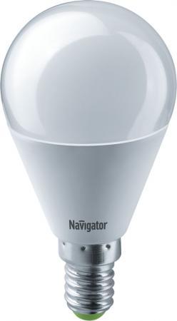 Лампа светодиодная шар Navigator NLL-G45-8.5-230-2.7K-E14 E14 8.5W 2700K 61 333 лампа светодиодная шар navigator nll g45 1 230 y e27 e27 1w 71830