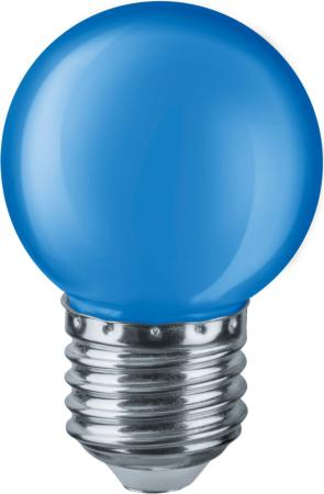 Лампа светодиодная шар Navigator NLL-G45-1 E27 1W 71 829 лампа светодиодная шар navigator nll g45 1 230 y e27 e27 1w 71830
