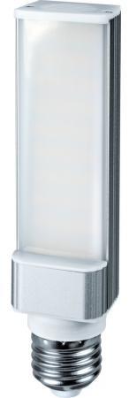 Лампа светодиодная цилиндрическая Navigator NLL-PL-8-230-4K-E27 E27 8W 4000K лампа светодиодная шар navigator nll g45 1 230 y e27 e27 1w 71830