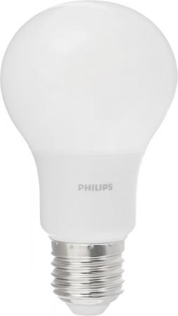 Фото - Лампа светодиодная груша Philips Б0039326 E27 4W 6500K лампа светодиодная прямосторонняя трубчатая voltega 7077 e27 4w 2800к