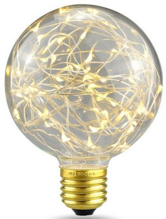 Лампа светодиодная шар Rev ritter VINTAGE Copper Wire E27 2W 2700K 32444 7 цена