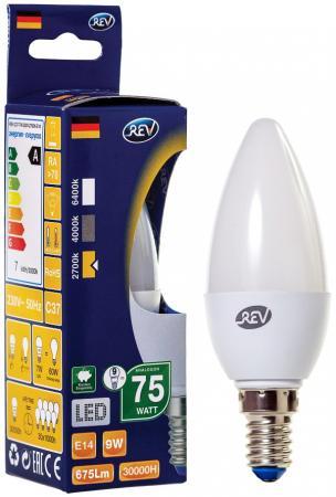 Лента светодиодная свеча Rev ritter 32410 2 E14 9W 2700K